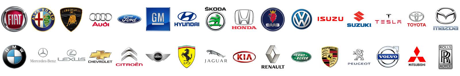 logo vehicle brands